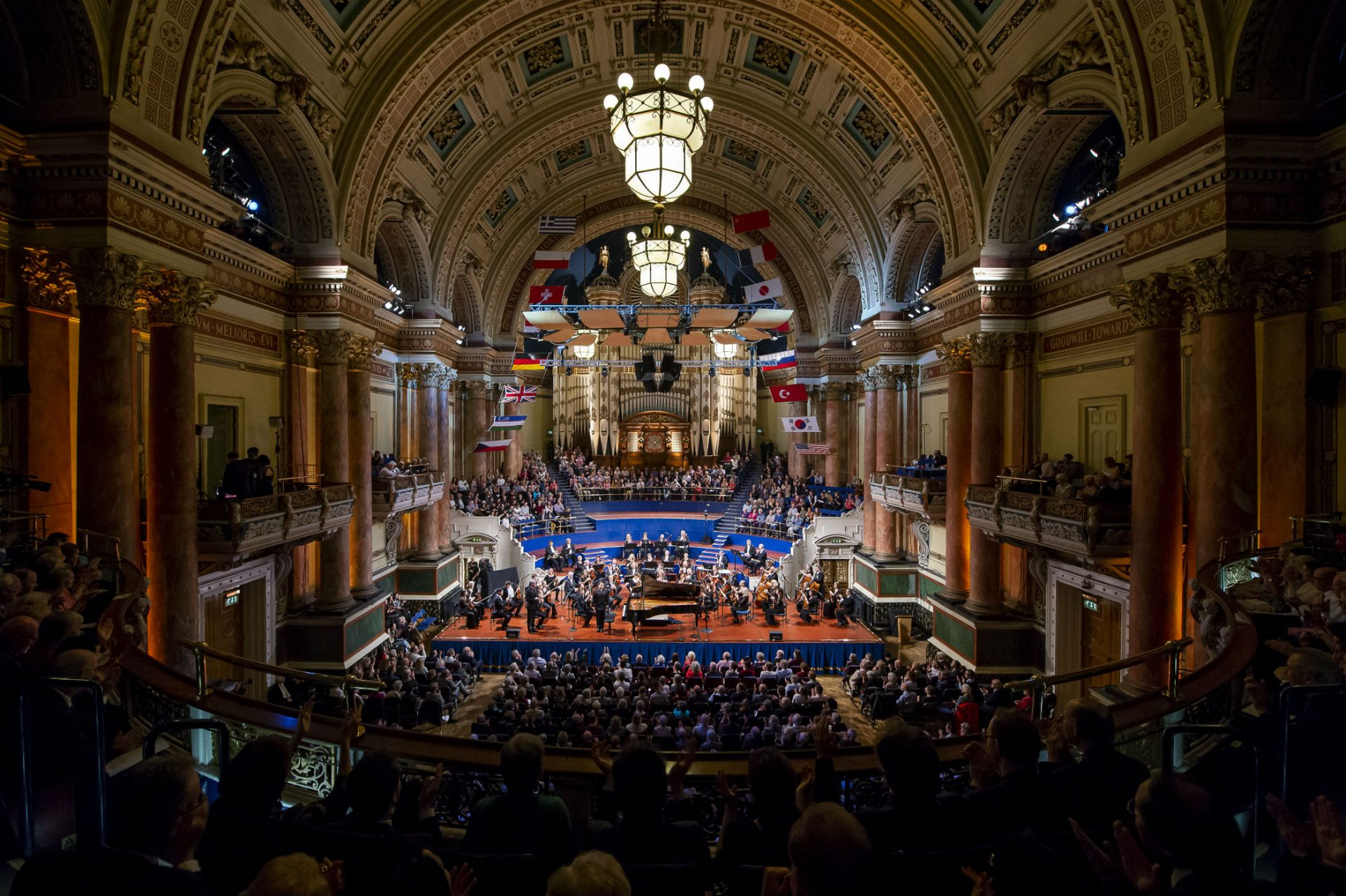 Leeds International Piano Competition - The Final and a tour