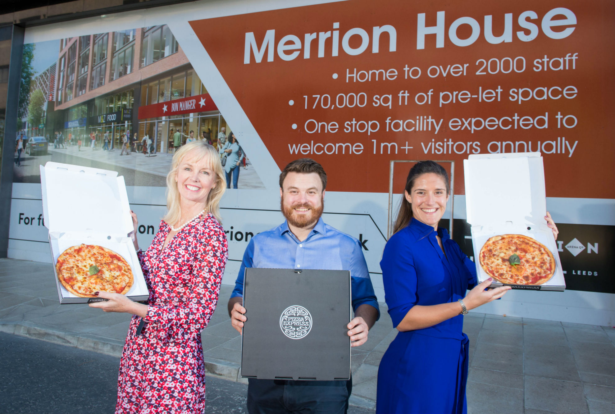 Merrion House Welcomes Pizza Express Leeds Living