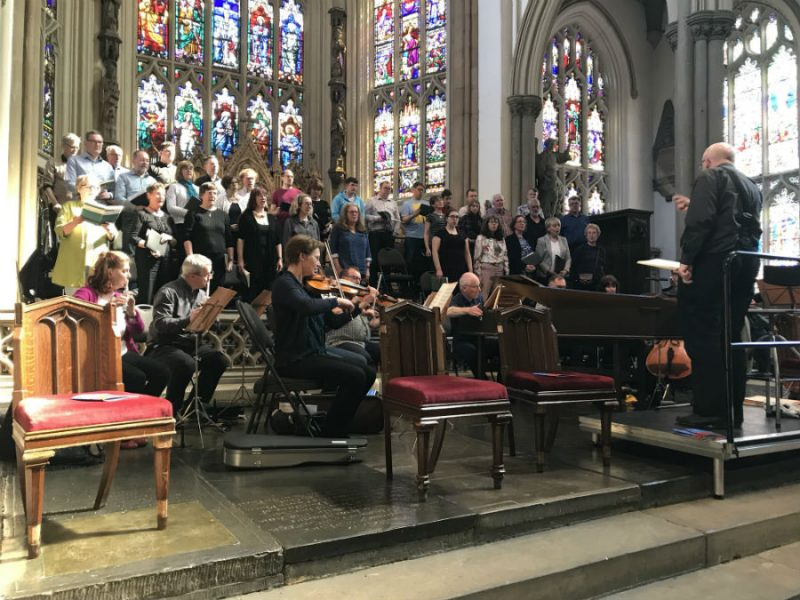 Dr Simon Lindley on Leeds St Peter's Singers, With